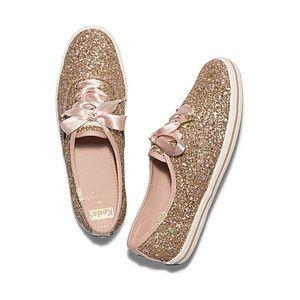 Kate Spade x Keds glitter sneakers